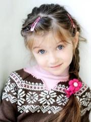 欧美萌娃 轻松装扮小公主