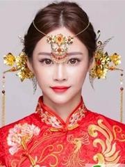 中式新娘发型设计 打造梦幻婚礼殿堂