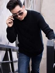 李东学暖冬雅痞大片曝光 展硬汉气质狂野不羁