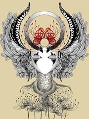 印象曼陀罗纹身手稿图