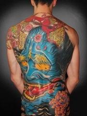 三张男人背部大气的满背般若manbeiboruo图案欣赏