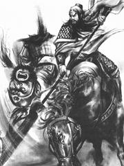 战斗中的关羽纹身手稿图片