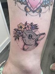 超精美的现实风格各种动物纹身图案来自艾梅布雷