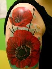手臂花纹身图案图片