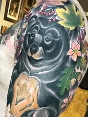 各种风格动物图案纹身来自于纹身师艾米