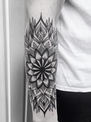 多款漂亮精致的几何装饰风格纹身图案来自杰森