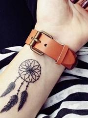 多款手腕上的小清新纹身图案
