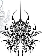 蜘蛛图腾纹身手稿