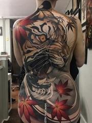 多款大型杰出的纹身图案欣赏来自贾斯汀•哈特曼