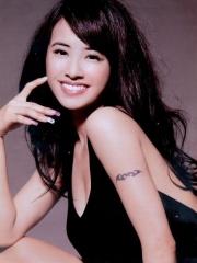 蔡依林手臂图腾纹身图片