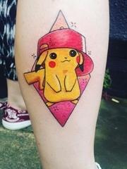 90年代童年记忆的纹身图案