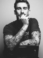 欧美帅哥的花臂纹身图案