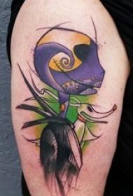 男生女生都喜爱的个性彩彩绘纹身图案