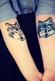 男女都喜爱的可爱小动物纹身图案