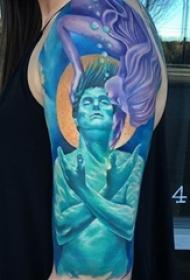 令人印象深刻的多功能性创意纹身图案