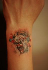 手腕齐天大圣孙悟空纹身图案