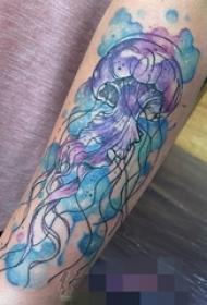 15款彩绘纹身技巧简单个性线条纹身图案大全