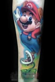 属于男生的童年记忆彩绘动漫创意纹身图案