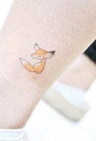 多款关于女生喜欢的唯美小清新简单线条纹身图案