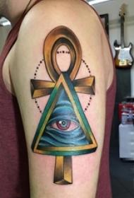 多款宗教元素创意经典十字架纹身图案