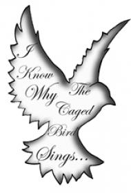 黑灰素描点刺技巧创意老鹰轮廓花体英文纹身手稿