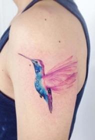 多款彩绘水彩素描星空元素渐变精致纹身图案