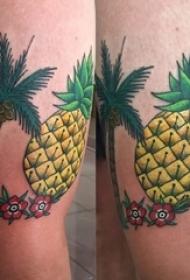 多款创意独特的精美别致夏日气息椰子树纹身图案