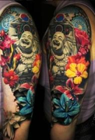 多款彩绘水彩素描创意文艺唯美精致纹身图案