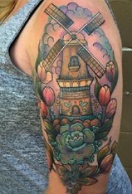 小清新文艺纹身 多款小清新文艺纹身素描彩绘纹身图案