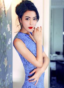 吴丹模特《Blue cheongsam·吴丹》古装写真