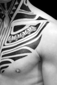部落图腾纹身  霸气十足的部落图腾纹身图案