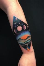 纹身星球   创意的星际系列纹身