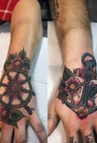 情侣纹身图案_10张爱意满满的情侣纹身作品图案图片