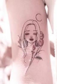 个性纹身图案-个性的男生女生纹身图片