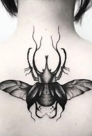 暗黑系纹身图案-风格暗黑系列的纹身图片