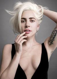 Lady Gaga登VOGUE十月刊封面照片