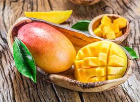 新鲜的芒果果肉图片欣赏