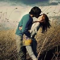 幸福浪漫接吻情侣QQ头像图片