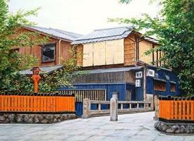 如胶片味道的日本街道 图片