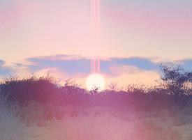 云朵 彩虹创意高清壁纸欣赏