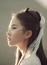 超美超仙的刘亦菲侧脸图片欣赏