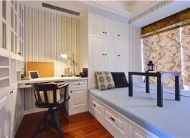榻榻米衣柜+书桌,与众不同的设计装修效果图