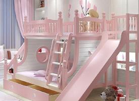 温馨可爱是双人儿童房设计装修效果图