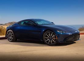 宝蓝色阿斯顿马丁Aston Martin Vantage 分辨率:4000
