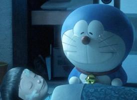 萌萌的身材娇小圆滚滚的蓝胖纸,有神奇的百宝袋的哆啦a梦图片