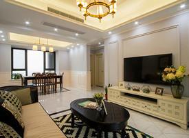 120平美式风格,低调内涵的家居生活