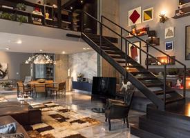 理想中的复式公寓装修效果图
