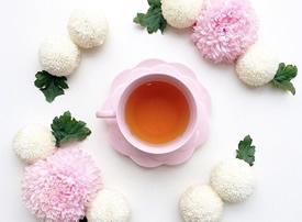 一组粉嫩粉嫩的下午茶图片参考