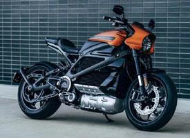 哈雷的第一辆电动摩托车图片欣赏