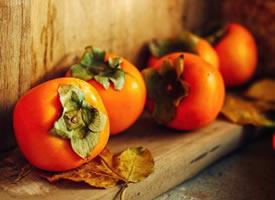 一组复古感 时代感的柿子图片